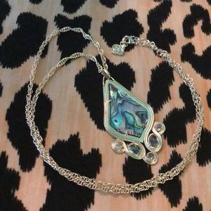Kendra Scott long drop necklace
